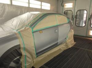 スバルXV鈑金塗装