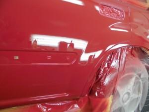 日産エクストレイル キズの塗装修理