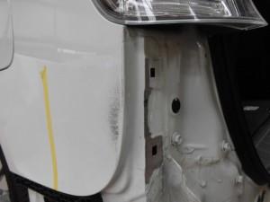 ホンダステップワゴン リヤ周り板金( 鈑金)塗装修理
