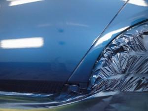 ホンダアコード ドアからフェンダーへの凹み 鈑金(板金)塗装修理