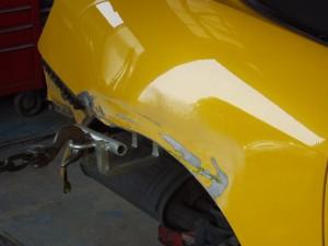ホンダ S2000(AP1) リヤフェンダ修理