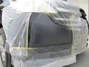 ホンダステップワゴン フロントバンパー修理