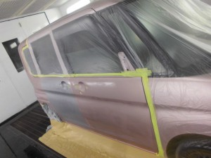 ダイハツタント スライドドア交換