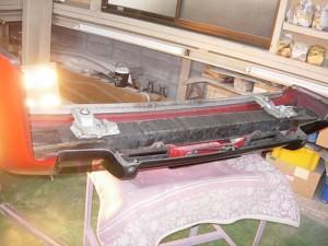 NSX(NA1) リヤバンパー修理