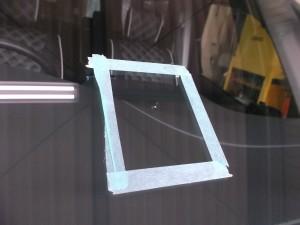 日産 セレナ ガラス交換