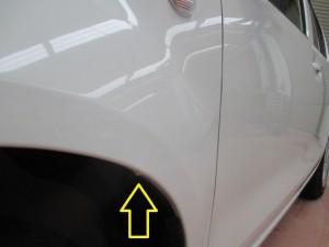 トヨタパッソ バンパー修理