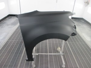 トヨタbB フロント周りの板金塗装修理