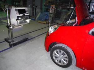 埼玉県春日部市:フロントフェンダー修理 トヨタ パッソ 保険修理