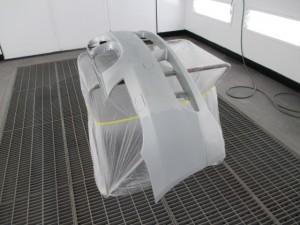 BMW525i  バンパー修理