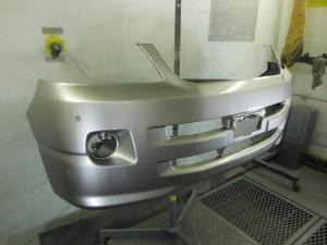 新品フロントバンパー塗装 トヨタ ノア