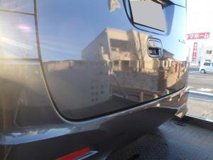 埼玉県桶川市 パレットSW リヤゲート(バックドア)板金・塗装・修理
