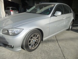 埼玉県川越市 BMW320i 鈑金塗装