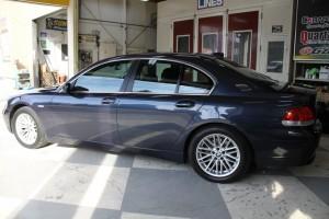 埼玉県さいたま市:コーティングメンテナンス BMW735