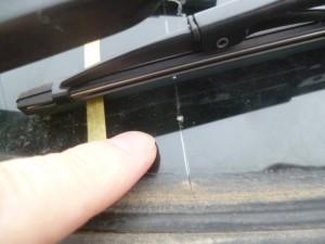 エスティマ(ACR40) フロントガラス交換