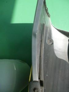 ラクティス(SCP100) リヤ事故修理