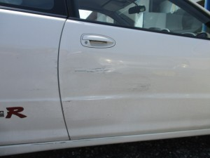 自損事故のため安く修理したい
