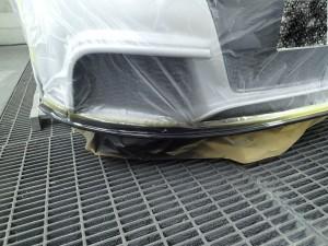 桶川市 アウディTT フロントバンパー 修理・塗装 安くキレイに