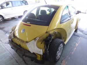 VWビートルステップパネルの修理 塗装