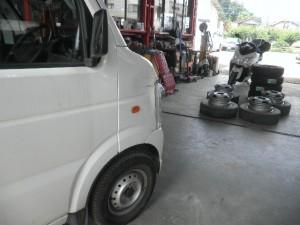 キャリィトラック DA63T 激安修理