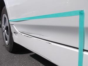 トヨタ プリウス W30 板金塗装
