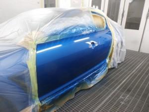 RX-8 ドアヘコミ修理