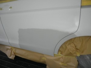 RK5 ステップワゴン よくある左側面の修理