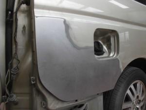 さいたま市:ステップワゴン 板金修理で全損にはいたしません