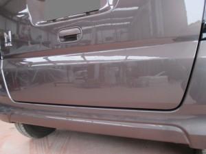 さいたま市:N-BOXバックドアのヘコミ板金修理