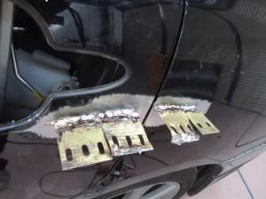 さいたま市:オデッセイのヘコミ お安く修理希望