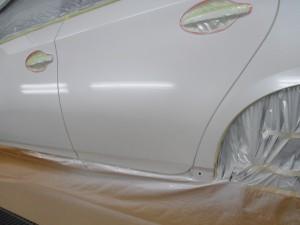 さいたま市:トヨタプリウス コスト優先の板金塗装修理