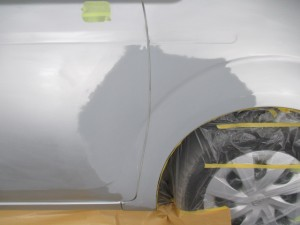 さいたま市:トヨタポルテ 板金修理で元通り!