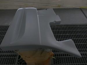 ハイゼット保冷車 フルエアロ塗装 取り付け