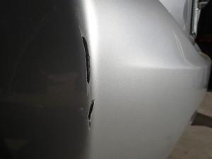 アクア リヤバンパー修理・塗装