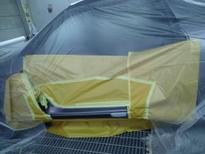 S660 ステップ板金・修理・塗装 クォーツガラスコーティング