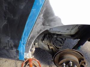 アルファード ANH20 スライドドア・リヤフェンダー 板金・修理・塗装