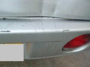 三菱ミニキャブ 追突事故修理