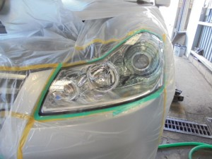 ヘットライト黄ばみ修理
