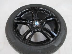 BMW純正ホイールを色変え塗装