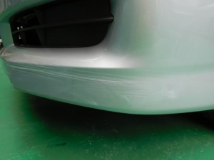 WISH ウイッシュ(ZGE20) フロントバンパー修理
