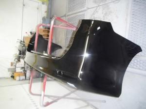 トヨタ ヴォクシー ZRR70W 塗装色 黒(202) の修理