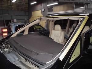 トヨタ アルファード 修理