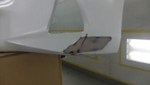 レクサスIS バンパー修理