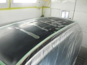MAZDA MPV ルーフパネル(屋根)傷修理・塗装