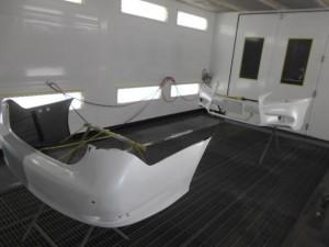 レクサスバンパー塗装修理