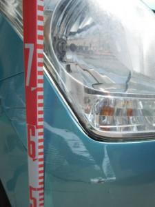 ワゴンR フロントバンパー・ヘッドライト交換
