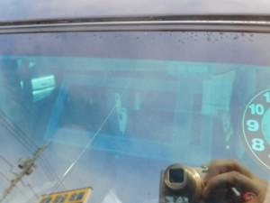 バモスホビオ(HM3) フロントガラス交換 断熱ガラス
