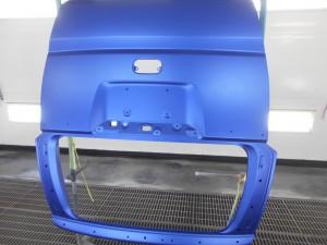 ホンダN-BOX リヤゲート交換塗装